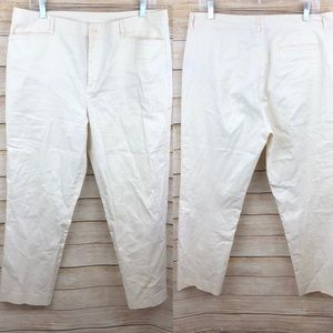 Ralph Lauren High Waisted ankle pants